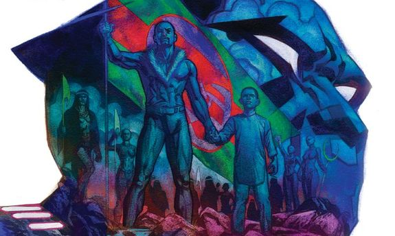Imagen portada del cómic Rise of the Black Panther