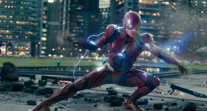 Captura del trailer final de Justice League / Liga de la Justicia (2017), Flash / Barry Allen