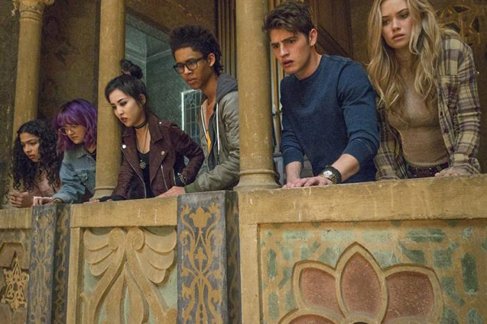Captura del primer trailer de Runaways