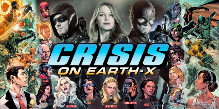 Montaje fan-art de Crisis on Earth-X
