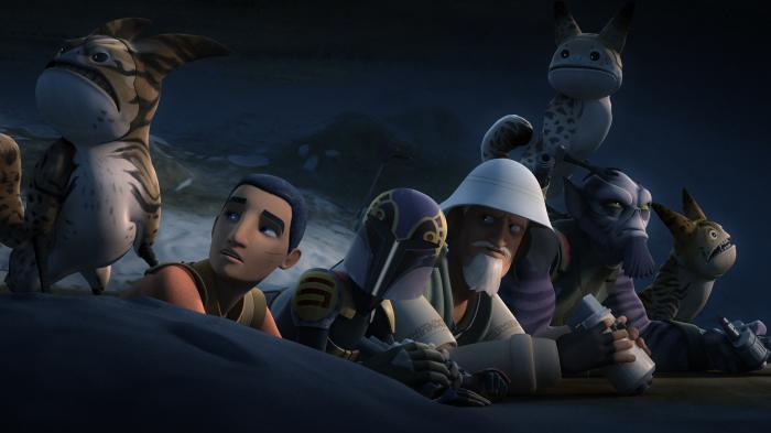 Imagen de Star Wars Rebels 4x06: Flight of the Defender