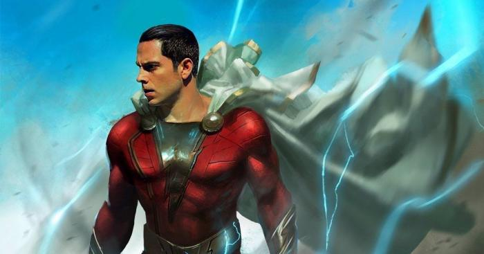 Fan-Art de Zachary Levi como Shazam