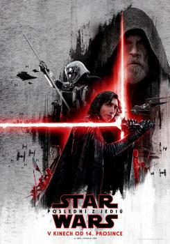 Póster internacional de Star Wars: Los últimos Jedi / Star Wars: The Last Jedi (2017)