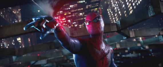 Captura del trailer de The Amazing Spider-Man (2012)