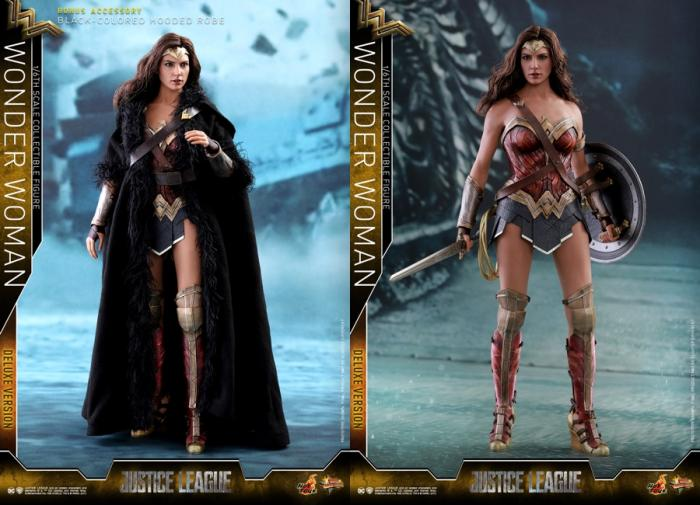 Figura Hot Toys de Wonder Woman para Justice League (2017)