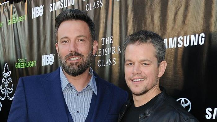 Los actores Ben Affleck y Matt Damon