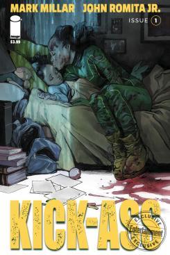 Imagen del nuevo cómic de Kick-Ass, lanzamiento 2018