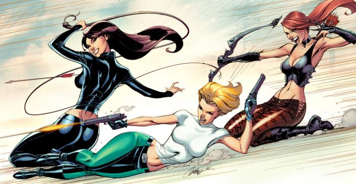 Danger Girl en los cómics