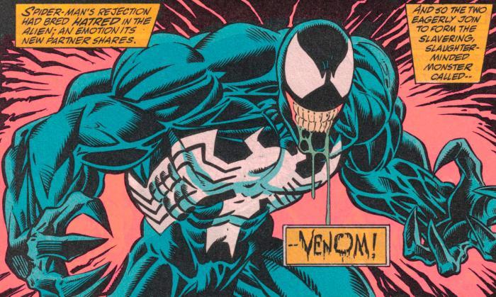 Venom en los cómics de Marvel Cómics