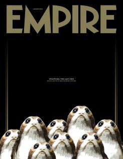 Star Wars: Los Últimos Jedi (2017) como portada de la revista Empire