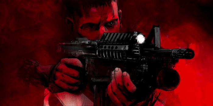 Recorte de Mondo Póster de The Punisher