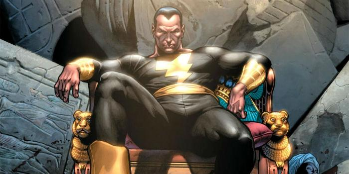 Black Adam en los cómics