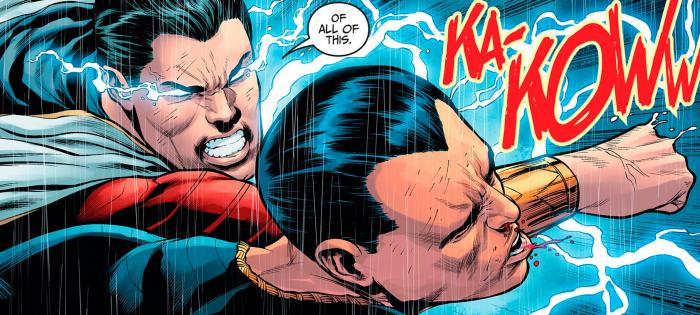 Shazam/Captain Marvel vs. Black Adam en los cómics