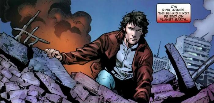 Rick Jones en los cómics Marvel