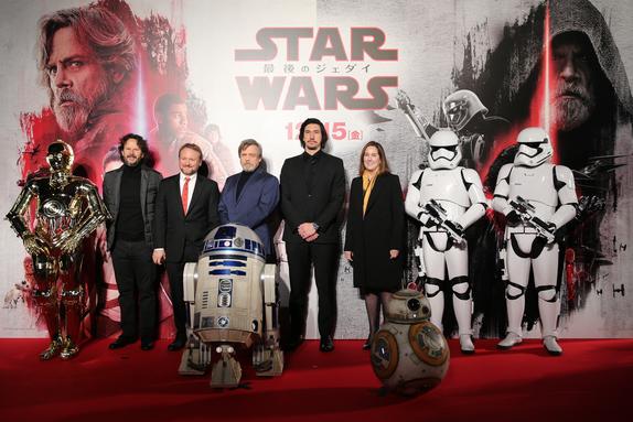 Evento alfombra roja de Star Wars: Los últimos Jedi (2017) en Tokio, Japón