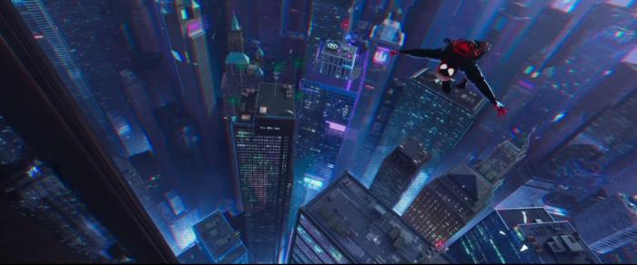 Imagen del primer teaser de Spider-Man: Into The Spider-Verse (2018)