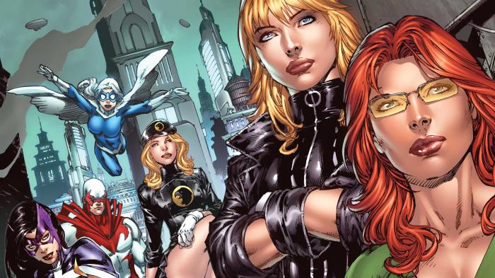 Portada Birds of Prey