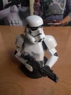 Imagen de Stormstropper del coleccionable de bustos de Star Wars de Planeta DeAgostini