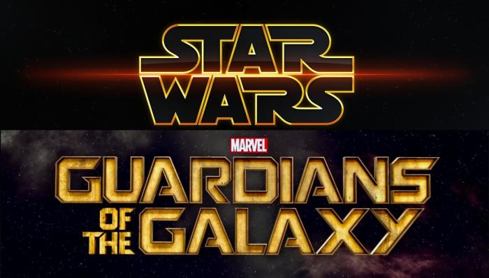 Logo de Star Wars y Guardianes de la Galaxia