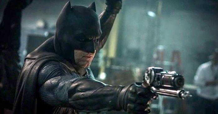 Imagen oficial de Batman en el set de Batman v Superman: El amanecer de la Justicia (2016)