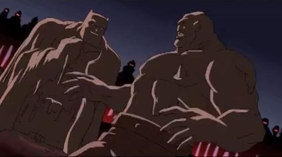 Captura del trailer de Batman: The Dark Knight Returns Part 1