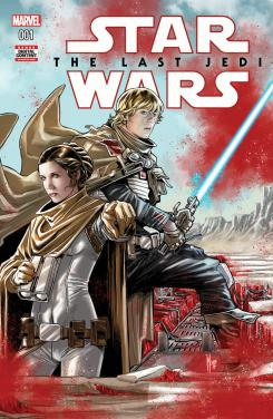 Portada del cómic Star Wars: Storms of Crait