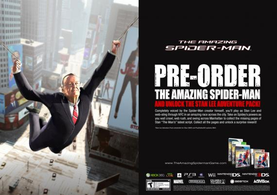 Pre-order The Amazing Spider-Man: The Stan Lee Adventure
