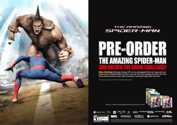 Pre-order The Amazing Spider-Man: The Rhino Challenge