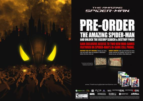 Pre-order The Amazing Spider-Man: Oscorp Search and Destroy