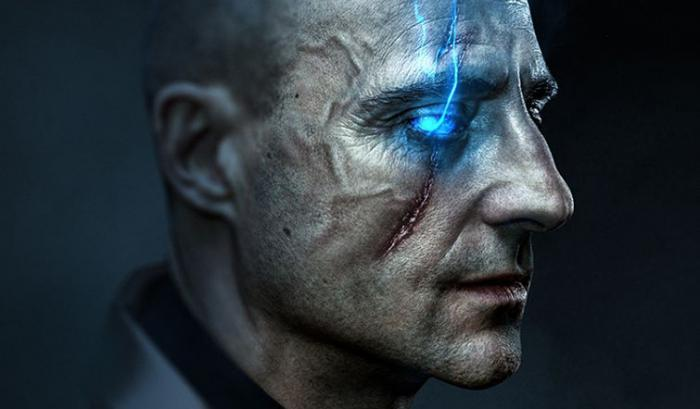 Fant-art de Mark Strong como Dr. Sivana, por Boss Logic