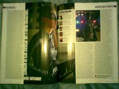 Scan de la revista Total Film (Julio de 2012), sobre The Dark Knight Rises (2012)