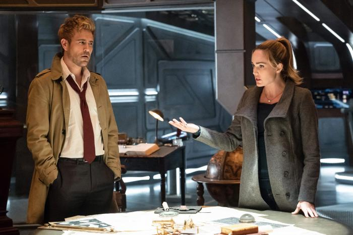 Imagen de John Constantine en Legends of Tomorrow 3x10: Daddy Darhkest