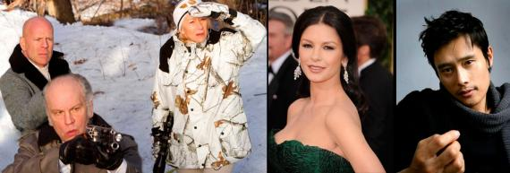 El reparto original regresa para Red 2 y se unen Catherine Zeta-Jones y Byung-Hun Lee