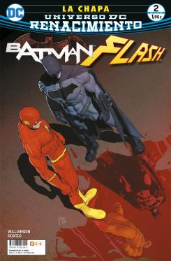 Portada de Batman / The Flash: La chapa núm. 02 (de 4) (Renacimiento)