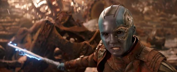 Captura del TV Spot para la Super Bowl de Vengadores: Infinity War (2018)