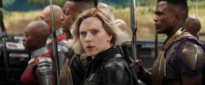 Captura del spot de la Super Bowl de Vengadores: Infinity War (2018)