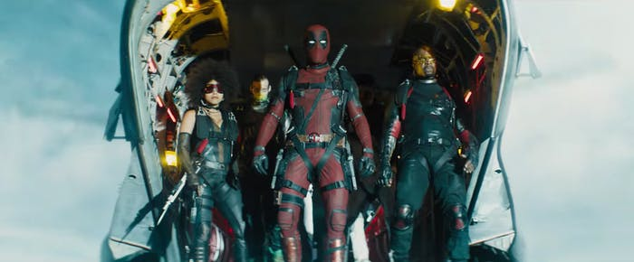 Captura del primer trailer de Deadpool 2 (2018)