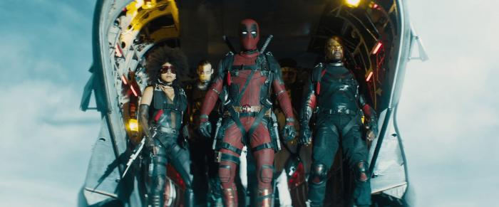 Captura del trailer de Deadpool 2 (2018)