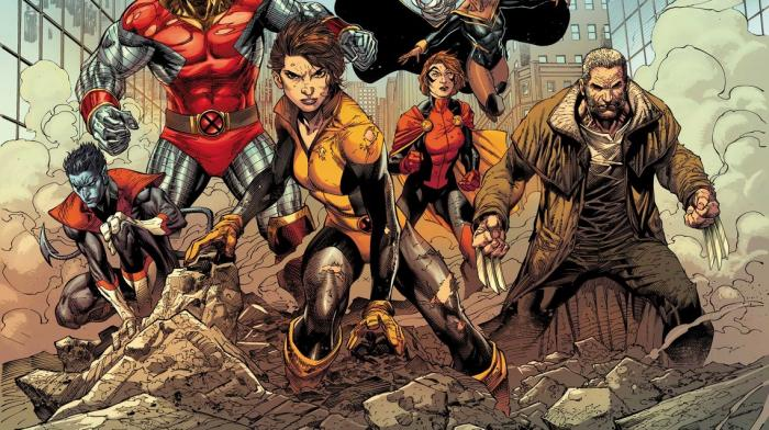 Kitty Pryde y los X-Men en el cómic X-Men Gold