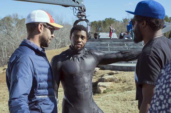 Imagen oficial del set de Black Panther (2018)