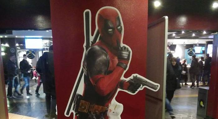 Standee de Deadpool 2 (2018)
