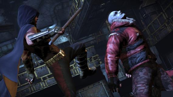Imagen del videojuego Batman: Arkham City (2012), pack descargable Harley Quinn Revenge