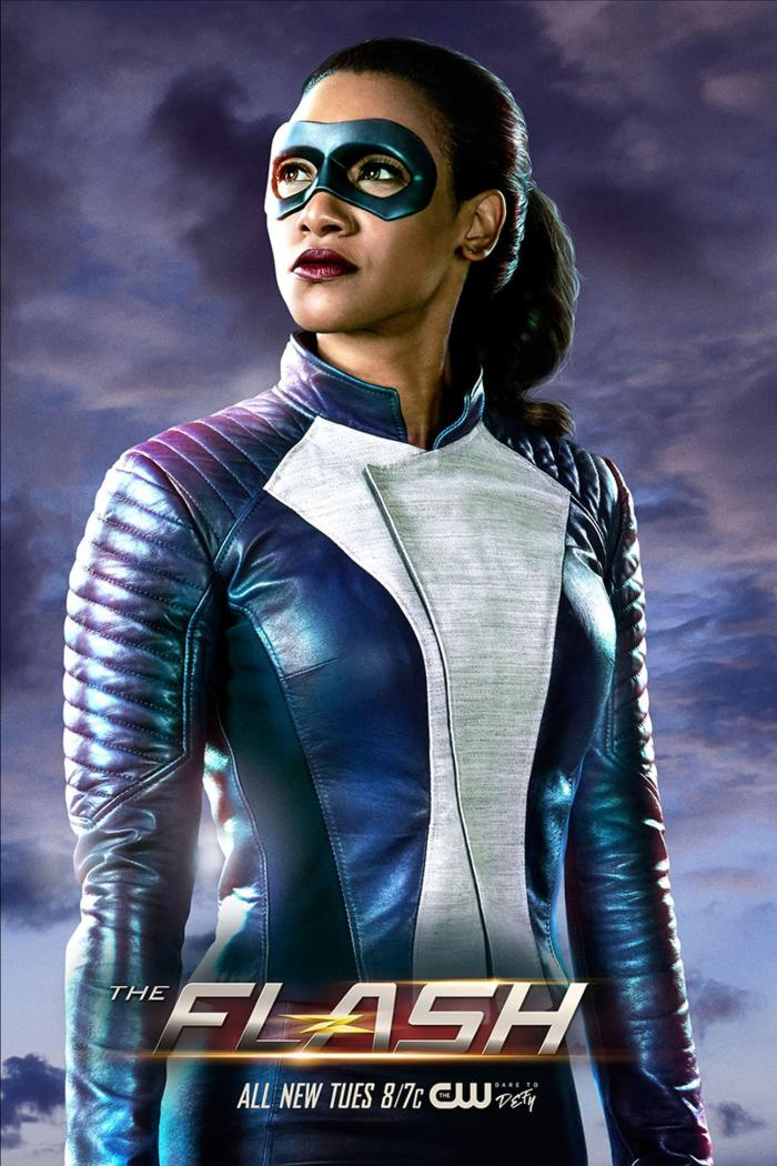 Póster de The Flash (2014 - ?) 4x16: Run, Iris, Run