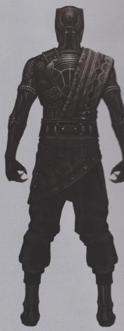 Concept art de T'Chaka en Black Panther (2018)