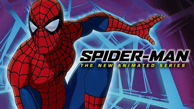 Spider-Man the new animated series cgi logo