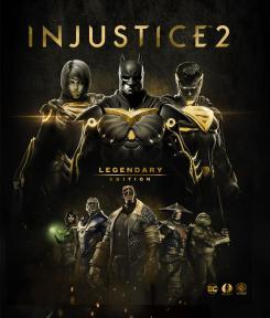 Key Art de Injustice 2: Legendary Edition (2018)