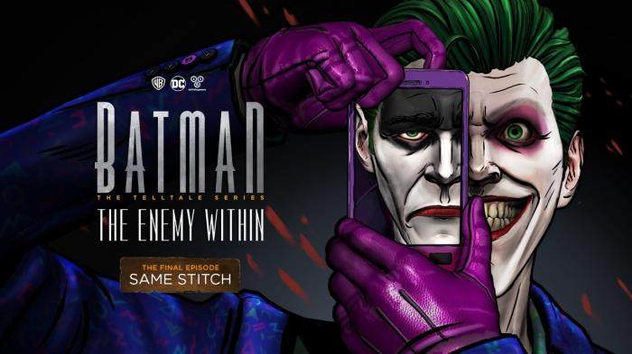 Imagen promocional del quinto episodio de Batman: The Enemy Within: Same Stitch