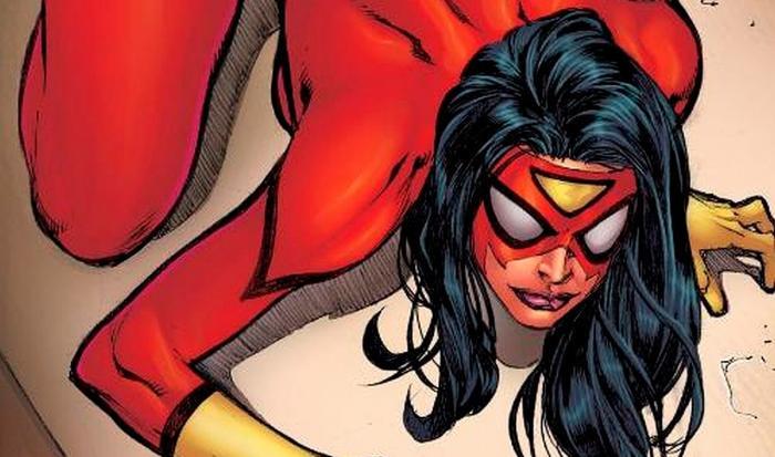 Imagen de Spider-Woman en los cómics