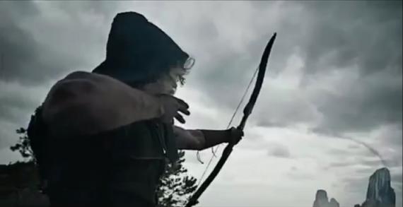 Captura del trailer de Arrow