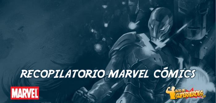 Recopilatorio de noticias de Marvel Cómics: relanzamiento de Iron Man y más